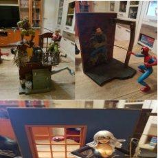 Cómics: GRAN LOTE DE 3 DIORAMAS FIGURAS MARVEL SUPERHEROES.SPIDERMAN. Lote 262279185