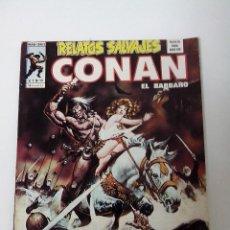 Cómics: COMIC RELATOS SALVAJES CONAN EL BARBARO V.1 Nº 38 LA MORADA DE LOS CONDENADOS. Lote 262647505