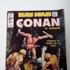 Cómics: COMIC RELATOS SALVAJES CONAN EL BARBARO V.1 Nº 10 SOMBRAS DE HIERRO EN LA LUNA. Lote 262647770