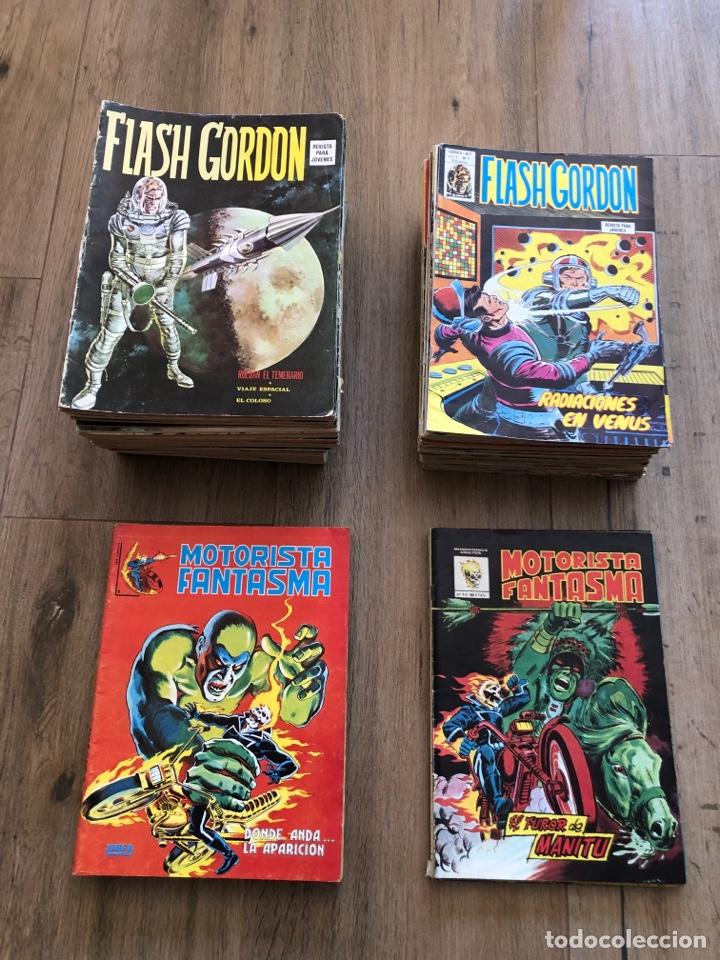 4 COLECCIONES COMPLETAS (Tebeos y Comics - Vértice - Flash Gordon)