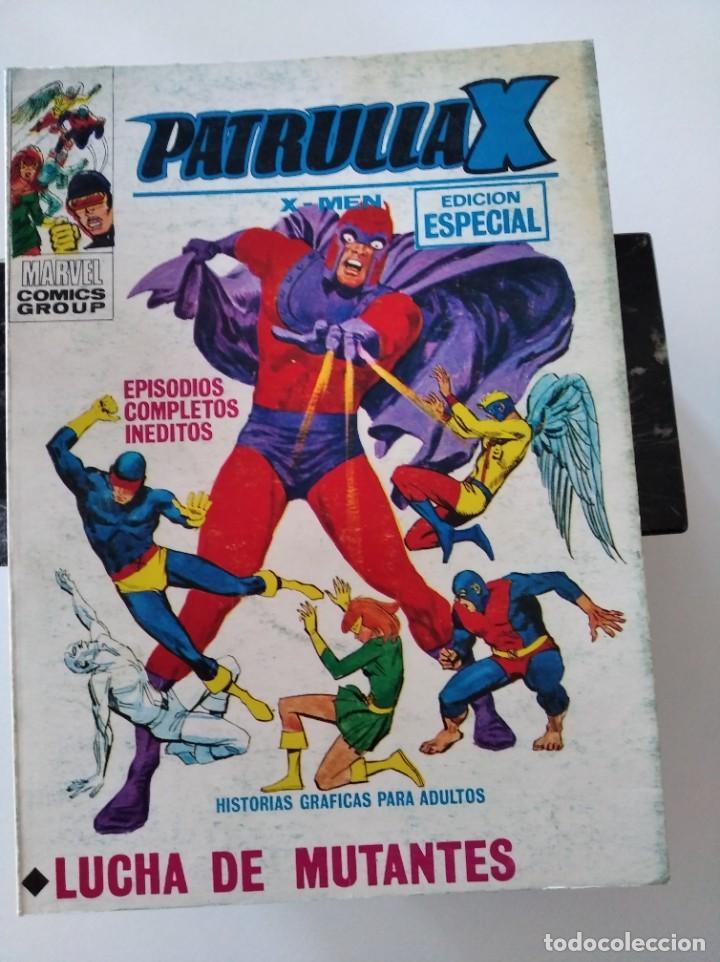 (VERTICE -V.1) PATRULLA-X : Nº: 25-MBE.- (Tebeos y Comics - Vértice - V.1)