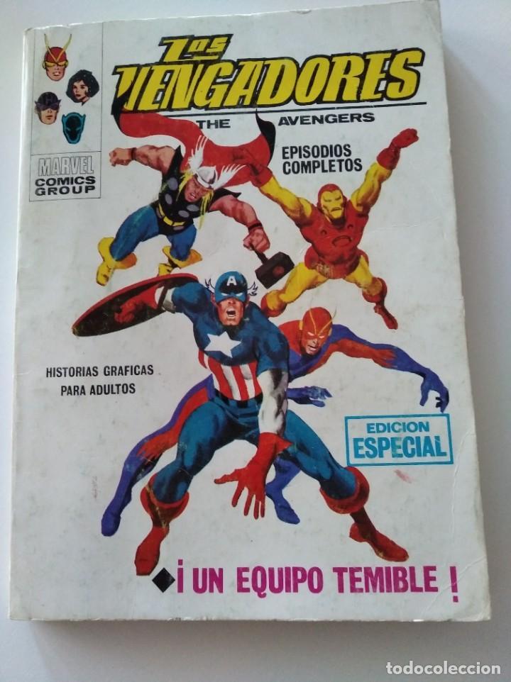 (VERTICE -V.1) LOS VENGADORES - Nº: 2 - BE.- (Tebeos y Comics - Vértice - V.1)