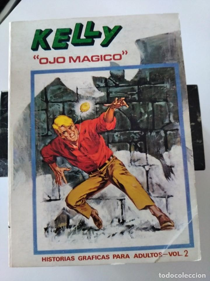"(VERTICE -V.1) KELLY "" OJO MAGICO"" Nº: 2 - MBE.- (Tebeos y Comics - Vértice - V.1)"