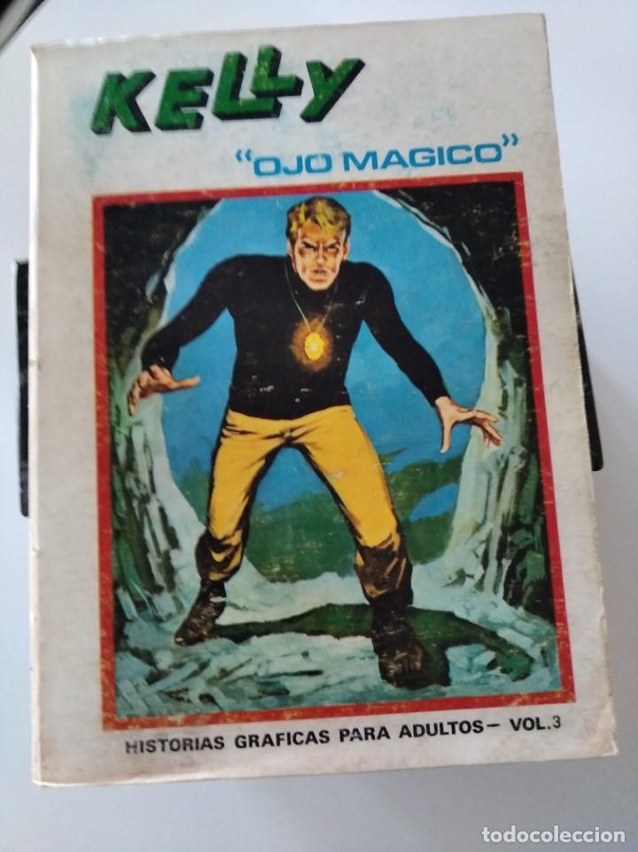 "(VERTICE -V.1) KELLY "" OJO MAGICO"" -Nº: 3 - BE.- (Tebeos y Comics - Vértice - V.1)"