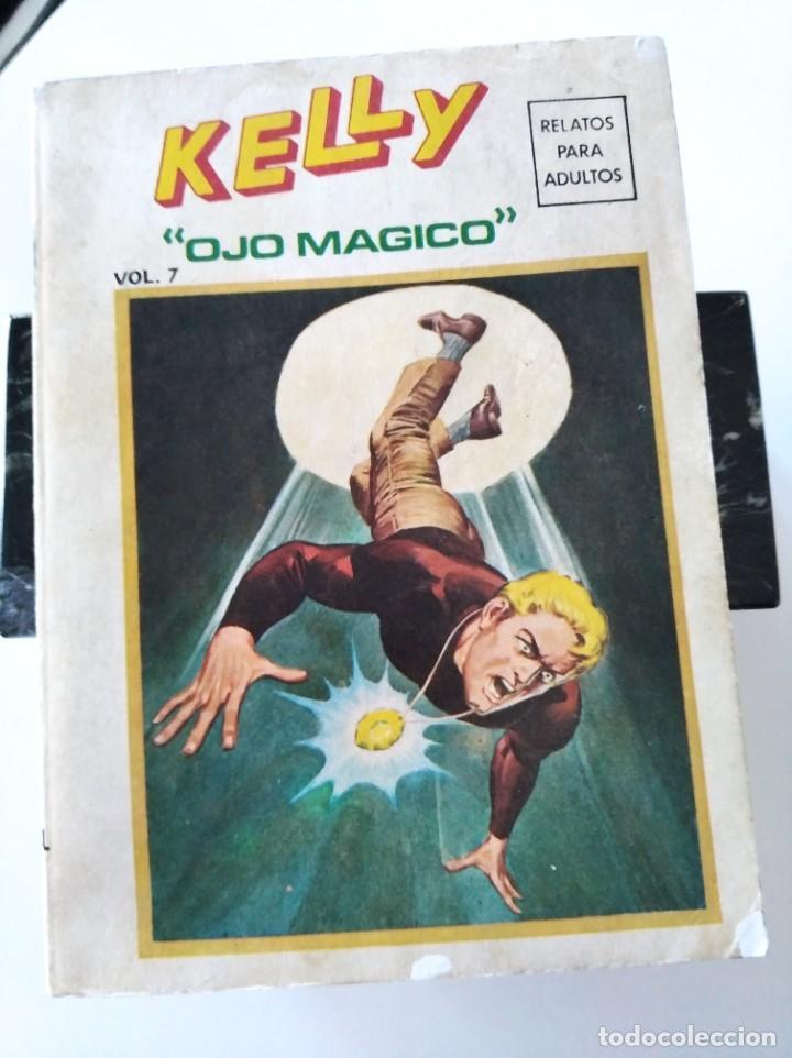 "(VERTICE -V.1) KELLY "" OJO MAGICO"" Nº: 7 - BE.- (Tebeos y Comics - Vértice - V.1)"
