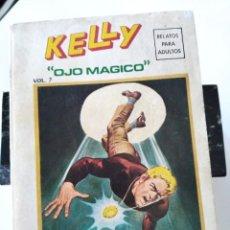 "Cómics: (VERTICE -V.1) KELLY "" OJO MAGICO"" Nº: 7 - BE.-. Lote 262703910"