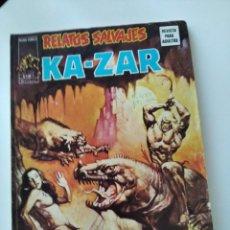 "Cómics: (VERTICE -V.1) RELATOS SALVAJES "" KAZAR"" -Nº: 6- MBE.-. Lote 262705285"