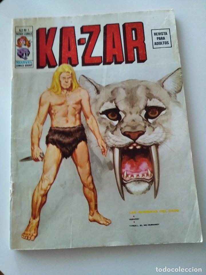 (VERTICE -V.2) KAZAR - Nº: 1 - BE.- (Tebeos y Comics - Vértice - V.1)