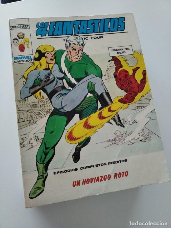 (VERTICE -V.1) LOS 4 FANTASTICOS - Nº: 65 - BE.- (Tebeos y Comics - Vértice - V.1)