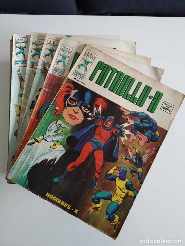 VERTICE ~ PATRULLA X ~ VOL. 3 COMPLETA ~ LEER!! (Tebeos y Comics - Vértice - Patrulla X)