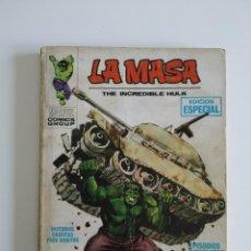 Cómics: VERTICE ~ LA MASA ~ VOL.1 Nº1. Lote 262892365