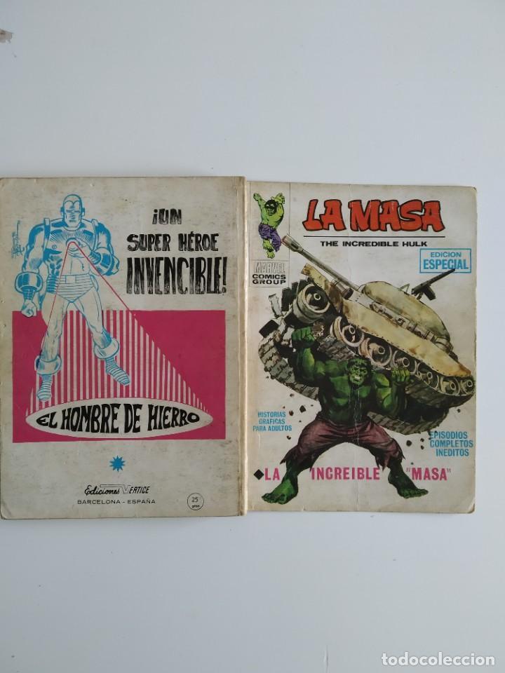 Cómics: VERTICE ~ LA MASA ~ VOL.1 Nº1 - Foto 3 - 262892365