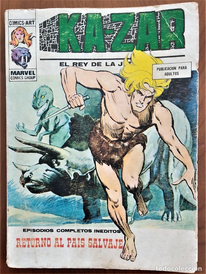 KA-ZAR EL REY DE LA JUNGLA 8 - VÉRTICE TACO V. 1 (Tebeos y Comics - Vértice - V.1)