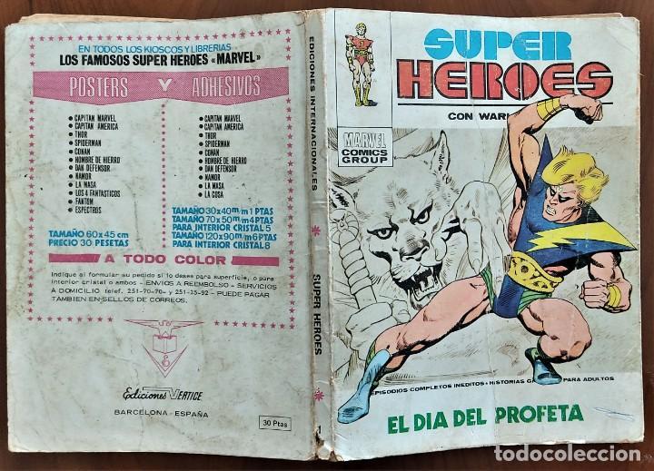 Cómics: SUPER HÉROES Nº 1 - VÉRTICE TACO V. 1 - Foto 2 - 262952445