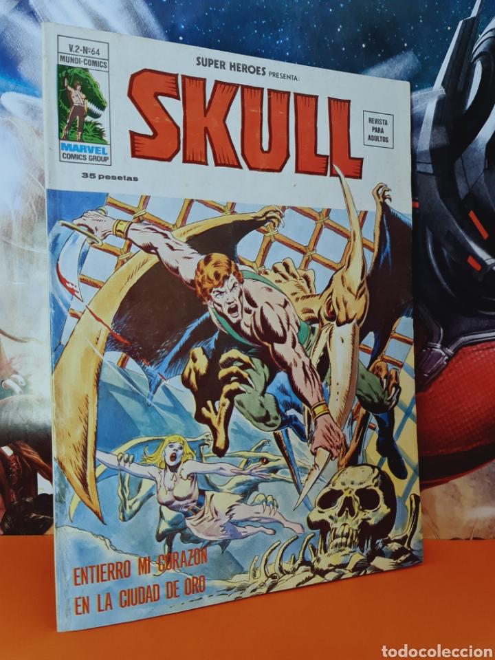 EXCELENTE ESTADO SUPER HÉROES 64 SKULL MUNDI COMICS MARVEL EDICIONES VERTICE (Tebeos y Comics - Vértice - Super Héroes)
