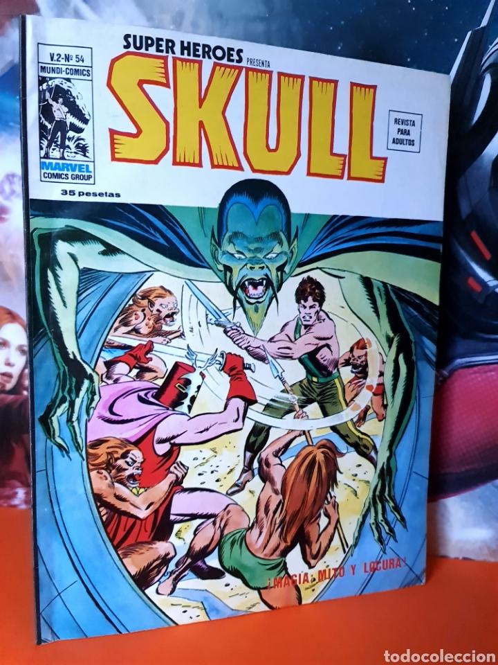 EXCELENTE ESTADO SUPER HÉROES 54 SKULL MUNDI COMICS MARVEL EDICIONES VERTICE (Tebeos y Comics - Vértice - Super Héroes)
