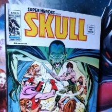 Cómics: EXCELENTE ESTADO SUPER HÉROES 54 SKULL MUNDI COMICS MARVEL EDICIONES VERTICE. Lote 262990475