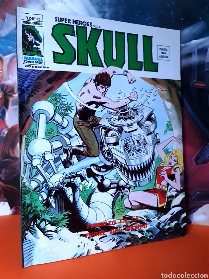 DE KIOSCO SUPER HÉROES 52 SKULL MUNDI COMICS MARVEL EDICIONES VERTICE (Tebeos y Comics - Vértice - Super Héroes)