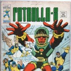 Cómics: 1977 MUNDI COMICS V3 # 7 PATRULLA X MARVEL CHARLES XAVIER X-MEN JACK KIRBY STAN LEE ARCANGEL VERTICE. Lote 263096715