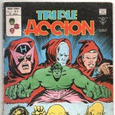 Cómics: 1979 MUNDI COMICS V1 # 8 TRIPLE ACCION LA MASA DORMAMMU DR STRANGE NAMOR SILVER SURFER. Lote 263100060