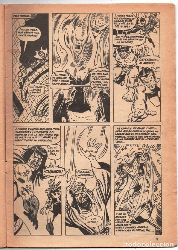 Cómics: 1979 MUNDI COMICS V1 # 8 TRIPLE ACCION LA MASA DORMAMMU DR STRANGE NAMOR SILVER SURFER - Foto 3 - 263100060