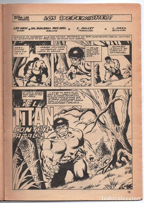 Cómics: 1979 MUNDI COMICS V1 # 8 TRIPLE ACCION LA MASA DORMAMMU DR STRANGE NAMOR SILVER SURFER - Foto 4 - 263100060