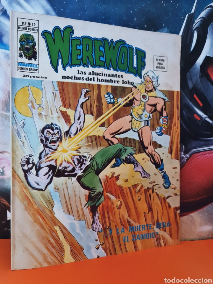 MUY BUEN ESTADO WEREWOLF 19 VOL II HOMBRE LOBO MUNDI COMICS MARVEL EDICIONES VERTICE (Tebeos y Comics - Vértice - Otros)