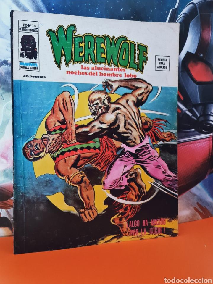 MUY BUEN ESTADO WEREWOLF 15 VOL II HOMBRE LOBO MUNDI COMICS MARVEL EDICIONES VERTICE (Tebeos y Comics - Vértice - Otros)