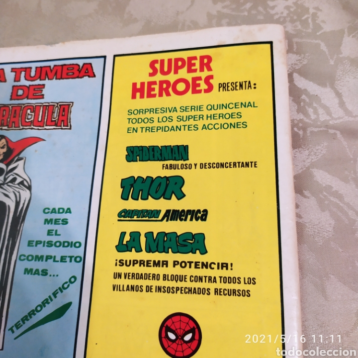 Cómics: La masa vertice vol 3 n° 40 muy difícil - Foto 3 - 263117045