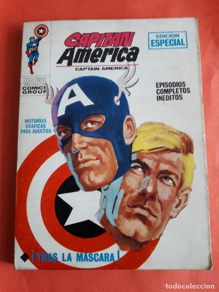 CAPITAN AMERICA N-6 MUY BUEN ESTADO COMPLETO (Tebeos y Comics - Vértice - Capitán América)