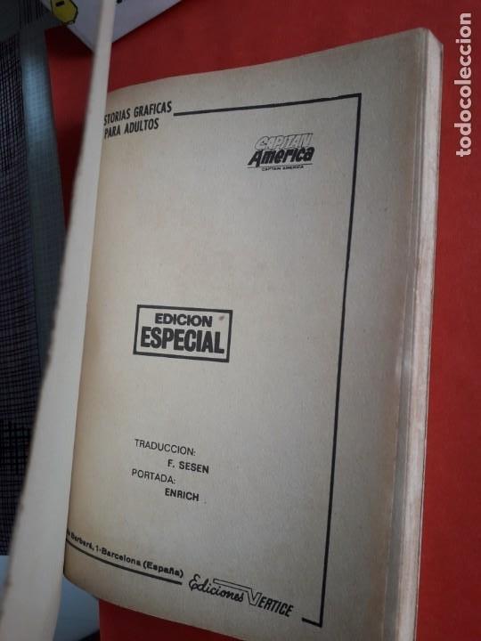 Cómics: CAPITAN AMERICA N-6 MUY BUEN ESTADO COMPLETO - Foto 4 - 263151265