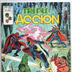 Cómics: 1979 MUNDI COMICS V1#10 LOS DEFENSORES LA MASA STRANGE NAMOR SILVER SURFER LEE JACK KIRBY ROY THOMAS. Lote 263155390