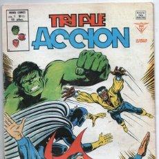 Cómics: 1979 MUNDI COMICS V1#11 LOS DEFENSORES LA MASA STRANGE NAMOR SILVER SURFER LEE JACK KIRBY ROY THOMAS. Lote 263166095