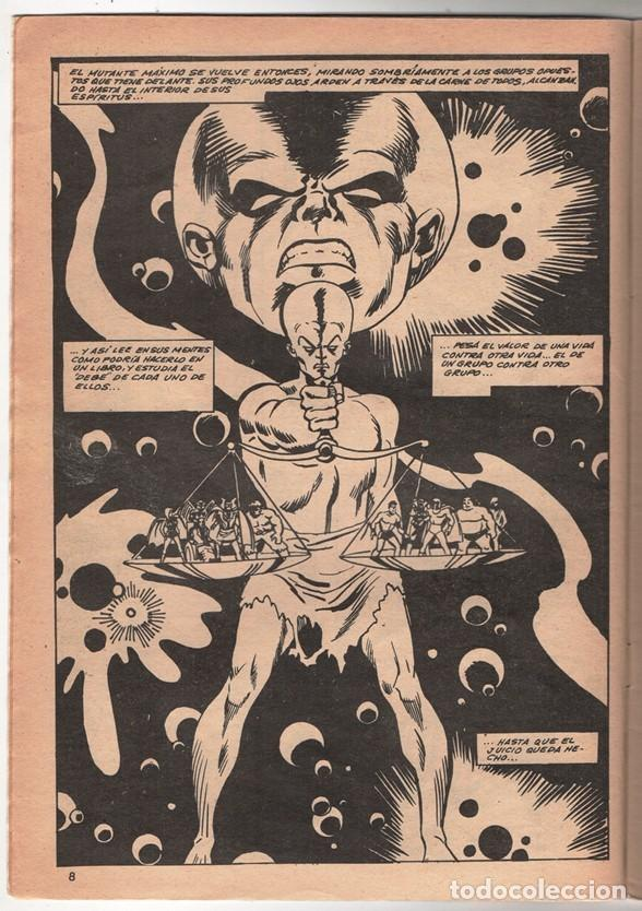 Cómics: 1979 MUNDI COMICS V1#11 LOS DEFENSORES LA MASA STRANGE NAMOR SILVER SURFER LEE JACK KIRBY ROY THOMAS - Foto 3 - 263166095
