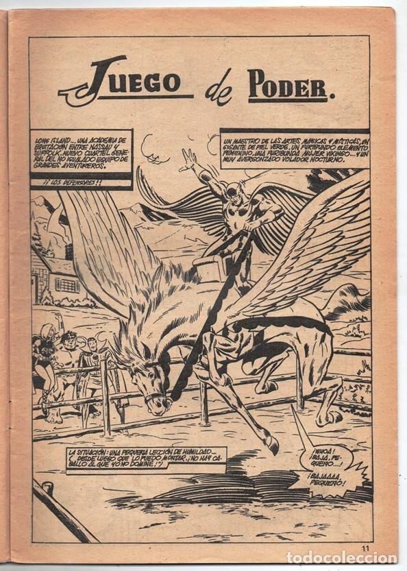 Cómics: 1979 MUNDI COMICS V1#11 LOS DEFENSORES LA MASA STRANGE NAMOR SILVER SURFER LEE JACK KIRBY ROY THOMAS - Foto 4 - 263166095