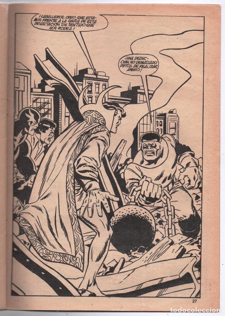 Cómics: 1979 MUNDI COMICS V1#11 LOS DEFENSORES LA MASA STRANGE NAMOR SILVER SURFER LEE JACK KIRBY ROY THOMAS - Foto 5 - 263166095