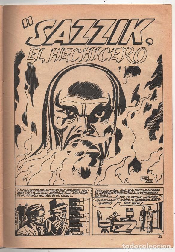 Cómics: 1979 MUNDI COMICS V1#11 LOS DEFENSORES LA MASA STRANGE NAMOR SILVER SURFER LEE JACK KIRBY ROY THOMAS - Foto 8 - 263166095