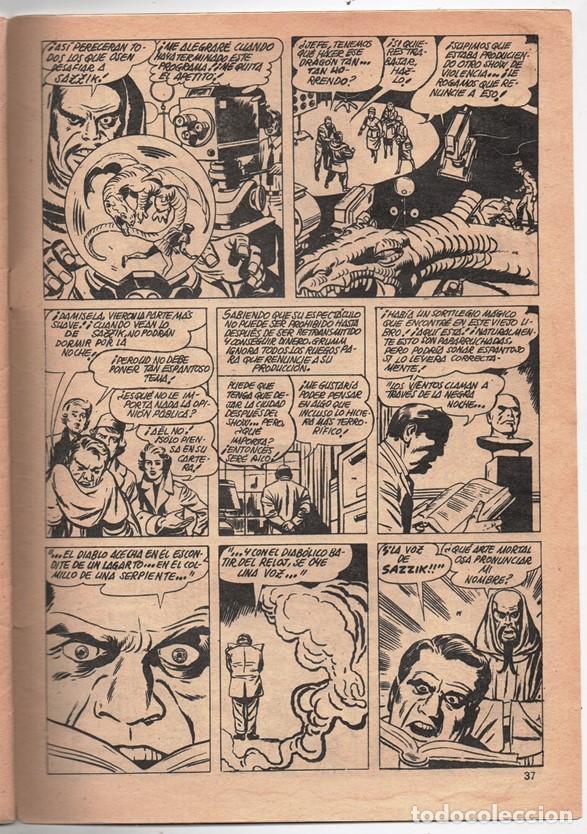 Cómics: 1979 MUNDI COMICS V1#11 LOS DEFENSORES LA MASA STRANGE NAMOR SILVER SURFER LEE JACK KIRBY ROY THOMAS - Foto 9 - 263166095