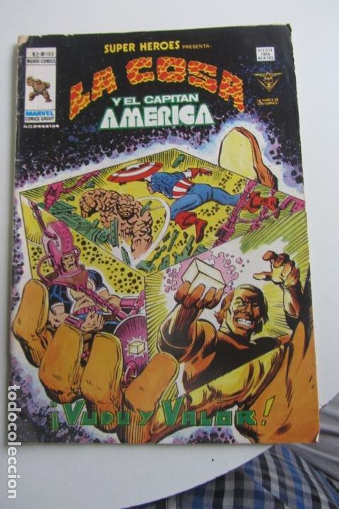 SUPER HÉROES VOL 2 Nº 103. VÉRTICE, 1979 MUNDO COMICS. VERTICE ARX99 (Tebeos y Comics - Vértice - Super Héroes)