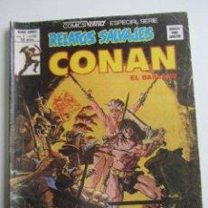 Comics: CONAN EL BARBARO MUNDO COMICS VOL 1 Nº 69 RELATOS SALVAJES 1979 EDICIONES VERTICE ARX99. Lote 263180425