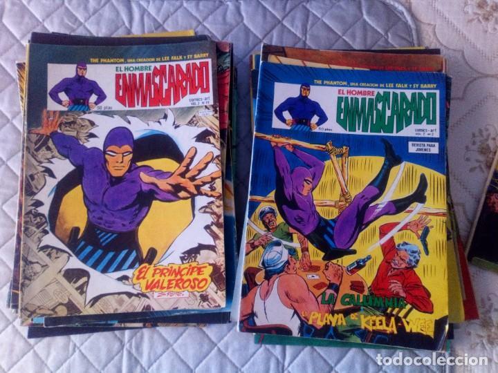 Cómics: El Hombre Enmascarado Vol.2 COMPLETA 43 números en MUY BUEN ESTADO.VERTICE - Foto 2 - 181146093