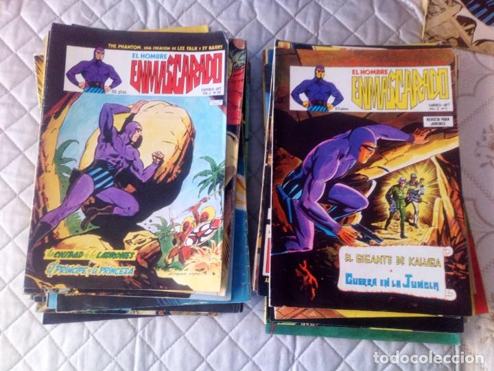 Cómics: El Hombre Enmascarado Vol.2 COMPLETA 43 números en MUY BUEN ESTADO.VERTICE - Foto 3 - 181146093