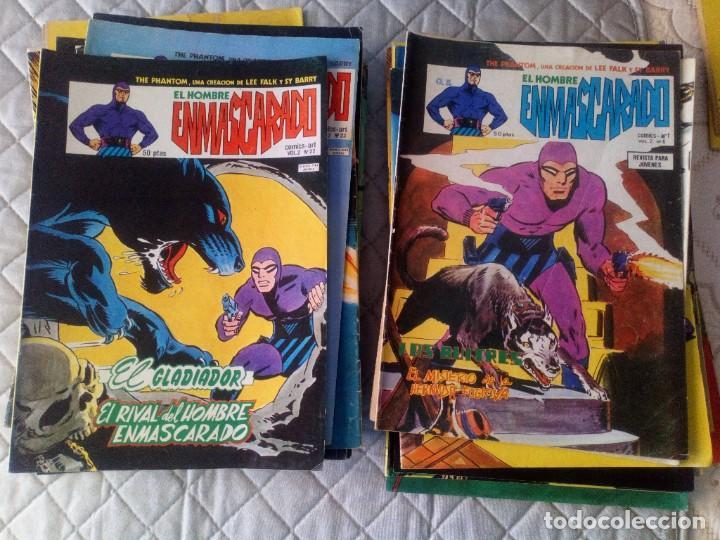 Cómics: El Hombre Enmascarado Vol.2 COMPLETA 43 números en MUY BUEN ESTADO.VERTICE - Foto 4 - 181146093