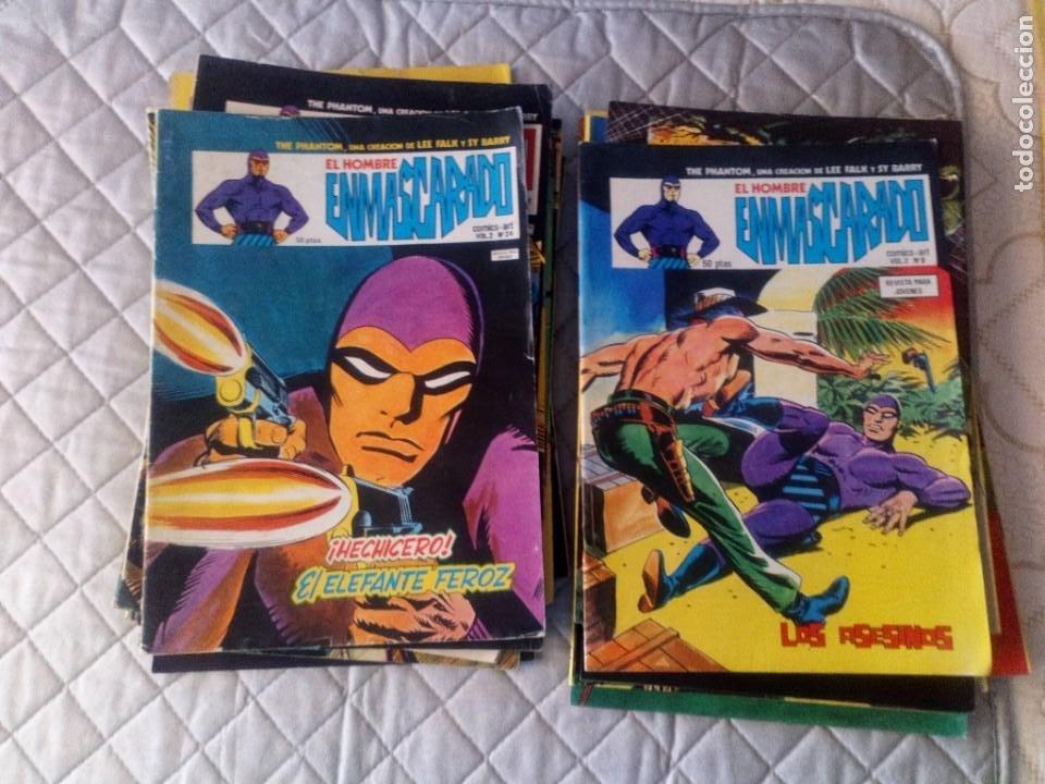 Cómics: El Hombre Enmascarado Vol.2 COMPLETA 43 números en MUY BUEN ESTADO.VERTICE - Foto 5 - 181146093