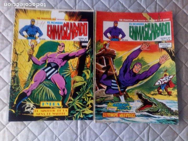 Cómics: El Hombre Enmascarado Vol.2 COMPLETA 43 números en MUY BUEN ESTADO.VERTICE - Foto 6 - 181146093