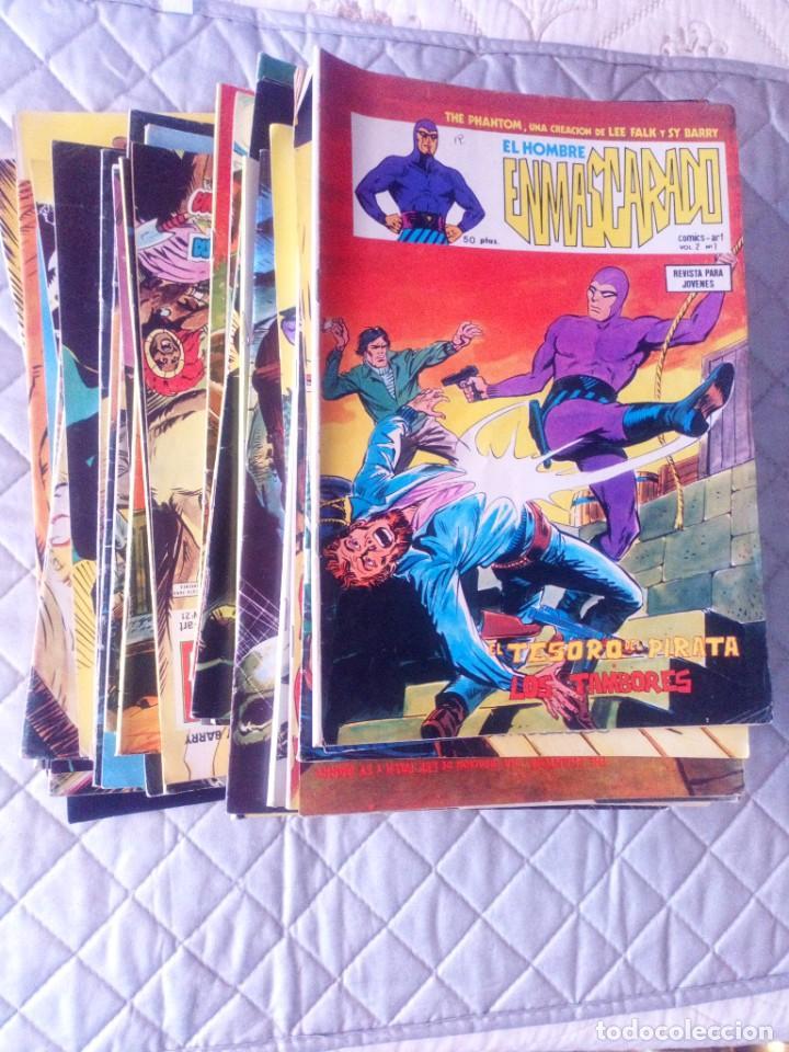 EL HOMBRE ENMASCARADO VOL.2 COMPLETA 43 NÚMEROS EN MUY BUEN ESTADO.VERTICE (Tebeos y Comics - Vértice - Hombre Enmascarado)