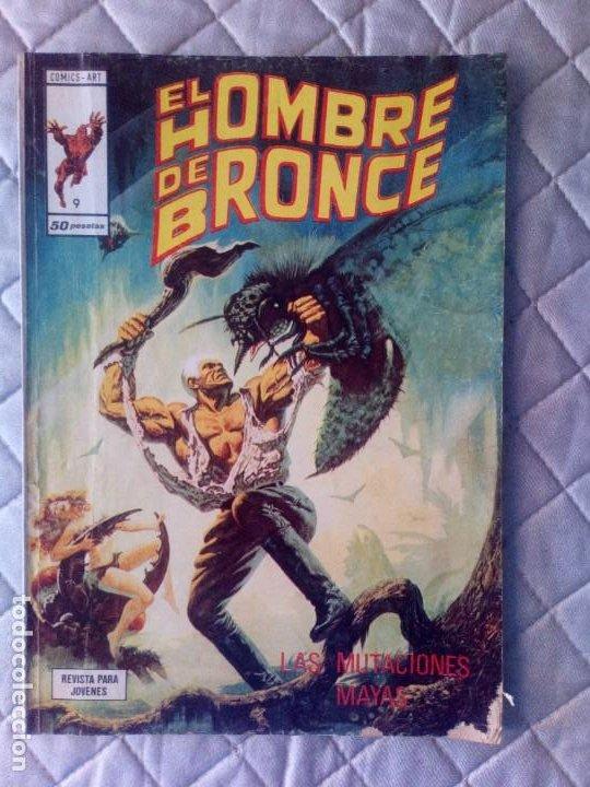 EL HOMBRE DE BRONCE Nº 9 VERTICE (Tebeos y Comics - Vértice - Otros)
