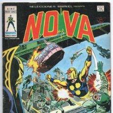 Cómics: 1979 MUNDI COMICS V1 # 37 NOVA STAN LEE MARV WOLFMAN CARMINE INFANTINO LA GARRA AMARILLA 38 PAG. Lote 263214955