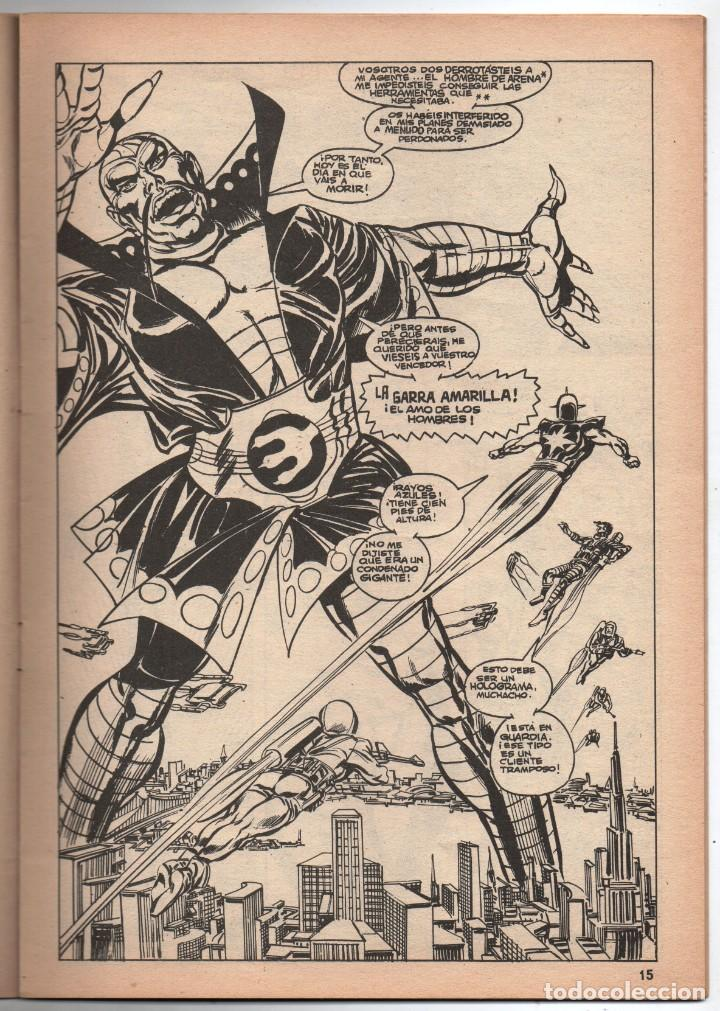 Cómics: 1979 MUNDI COMICS V1 # 37 NOVA STAN LEE MARV WOLFMAN CARMINE INFANTINO LA GARRA AMARILLA 38 PAG - Foto 3 - 263214955