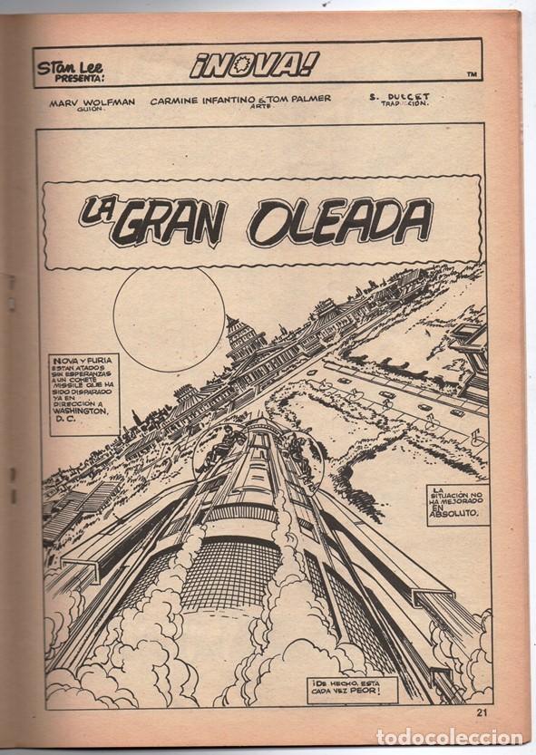 Cómics: 1979 MUNDI COMICS V1 # 37 NOVA STAN LEE MARV WOLFMAN CARMINE INFANTINO LA GARRA AMARILLA 38 PAG - Foto 4 - 263214955